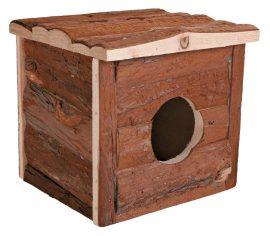 Fából készült odú egerek és hörcsögök részére
