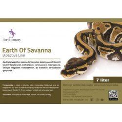 Talajkeverék (királypitonok, varánuszok számára) (HERPHUNGARY EARTH OF Savanna)